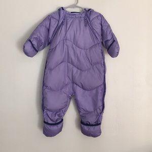 REI  Infant Bunting Snowsuit Goose Down -18 Months